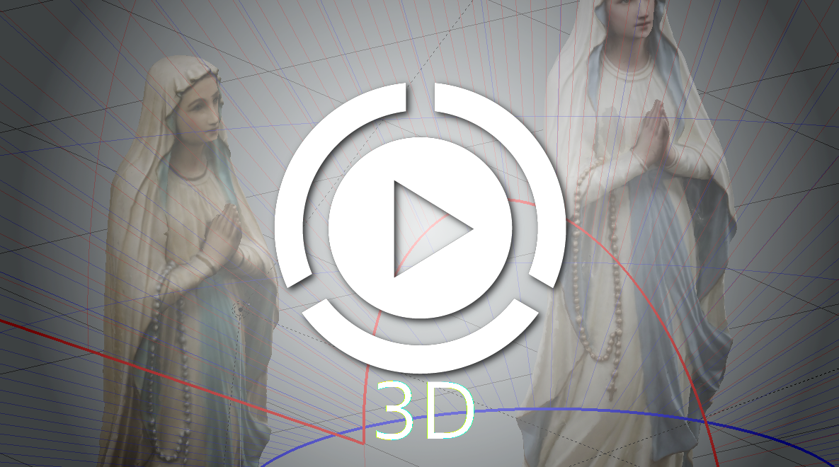 Play Lourdes Statue 3D Viewer