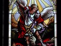Stained Glass St. Michael