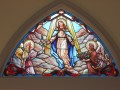 Assumption of Mary Stained Glass