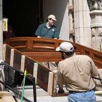 Restoring and Antique Entrance